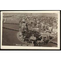 Cartão Postal Antigo Recife Pe Vista Aérea 3