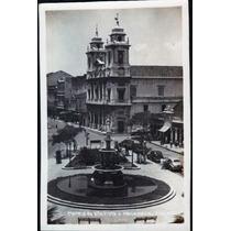 Cartão Postal Antigo Recife Pe Matriz Da Boa Vista