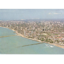 19249 - Postal Recife, P E - Vista Aérea - Beira Mar