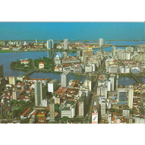 17871 - Postal Recife, P Ee - Vista Aérea Do Centro