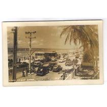 Re27 - Postal Antigo Recife Praia Da Boa Viagem, Carros.