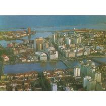 15483- Postal Recife, Pe - Vista Aerea Panoramica
