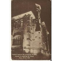 Cartão Postal Embaixada - Exposição De Porto Alegre 1935