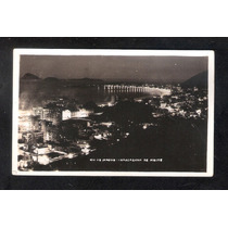 Rio De Janeiro- Copacabana À Noite-c.postal Fotografico