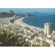 0687- Postal Rio De Janeiro,r J - Panoramica Copacabana