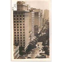 Ml-0944 Cartão Postal Antigo - Av. Rio Branco Rj