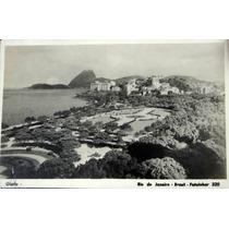 Cartão Postal Antigo Glória Rio De Janeiro Fotolabor Nº 320