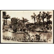 Cartão Postal Antigo Vitoria Es Aspecto Parque Moscoso 1966