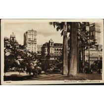 Cartão Postal Antigo São Paulo Parque Anhangabahu