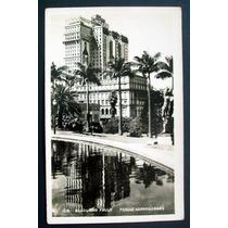 Cartão Postal Antigo São Paulo Parque Anhangabau