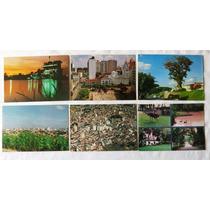 6 Cartões Postais Sorocaba - Anos 70 / 80 Originais