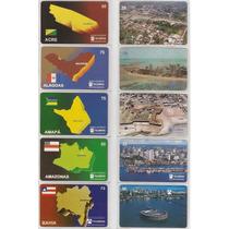 Ponto Do Cartão Estados Brasileiros E Suas Capitais