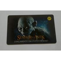 Cartão Telefônico Série Senhor Dos Anéis 3