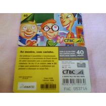 355 - Cartão Ctbc Dia Do Professor - 40 Un - Tir. 239.000