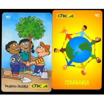 Loucura Série Dia Da Cidadania (2 Cartões) Ctbc