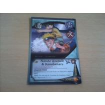 Cards Naruto - Naruto Uzumaki & Konohamaru.