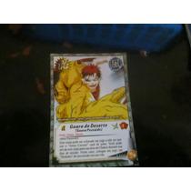 Card Do Naruto Classico: Gaara Do Deserto - Holografico