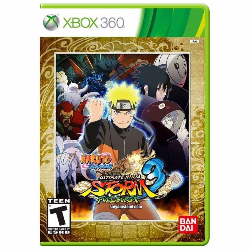 Naruto shippuden: ultimate ninja storm 3 full burst xbox360 pal / ntsc-j ru/multi5 lt+30 (xgd3 / 16202) (2014)