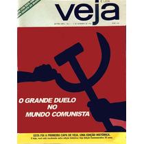 Revista Veja Reedição Capa Nº 1 Edição 35 Anos Nº 1821. Rara