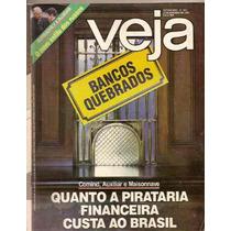 Revista Veja - Quanto A Pirataria Financeira Custa Ao Brasil
