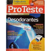 Revista Pro Teste 90- Desodorantes- Impressoras- Cdlandia