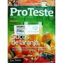 Revista Pro Teste 104 Julho 2011- Sucos De Laranja- Cdlandia