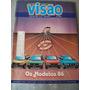 Revista Visão Nº 44 - Festivais Musicais, Carros Ano 86 -