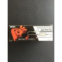 Neo Geo Pocket : Fonte Original Com Caixa E Manual Ótimo Est