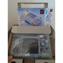 Snk Neo Geo Pocket Color Crystal - Raro Com 3 Jogos