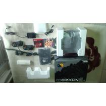 Neo Geo Cd Com Caixa,isopor,manual + 2 Jogos Originais