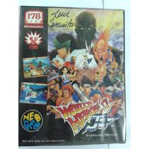 Fita De Neo Geo Aes Word Heroes 2 Jet ( Completo )