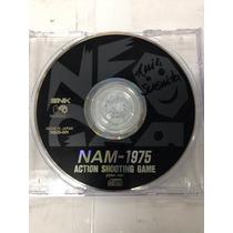 Cd De Neo Geo Original Nam 1975 ( Jogo De Tiro De Fases )