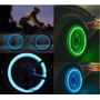 Tampa Valvula Bico Led Neon Pneu Moto Carro Bike - 2 Unid.