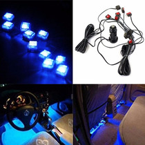 Lâmpada Led Azul Tuning 10 Luz Neon 12v Universal Mais Brind