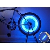 Kit 4 Bicos Neon Led Roda Pneu Bike Moto Carro Luz Xenon