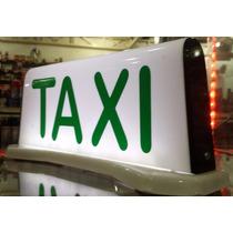 Luminoso Para Taxi Grande Imantado Iluminação Led Especial