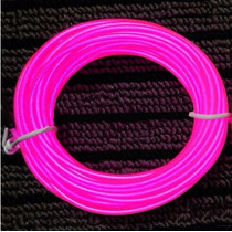 Tubo Fio Flexível Neon Pink