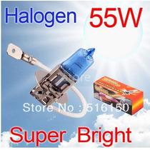 Par Lampada Super Branca Farol Milha H3 55w Xenon + Brinde