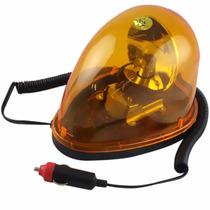 Giroflex 12v Luz De Emergência Sinalização Amarelo C/ Imã