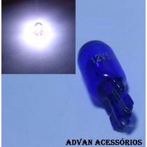 Lâmpada Pingo T10 W5w Super Branca Tipo Blue Vision Philips