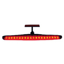_break-light 26cm 20 Leds Vermelho + Mercado Pago Cod:928938