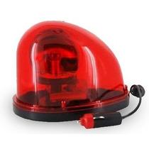 Giroflex Luz Vermelho Sinaliza Emergência Viatura Ambulância
