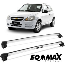 Rack Teto Celta 2000 A 2011 Eqmax Wave Prata 6114 2/4 Portas