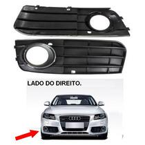 Audi A4 2009 A 2011 Grade De Farol De Milha Com Aro Cromado