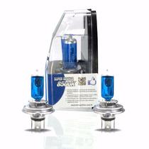 Par Lampada Super Branca Tipo Xenon H4 H7 6000k + Brinde