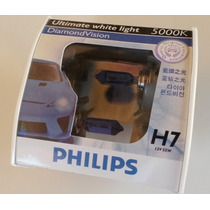 Kit Lampadas Philips Diamond Vision H7 Efeito Xenon