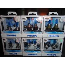 Originais Philips Diamond Vision 5000k H1 H3 H4 H7 Hb3 Hb4