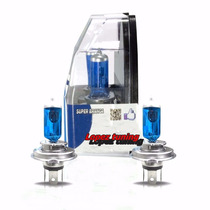 Par Lampada Super Branca Tipo Xenon H4 H7 8500k + Brinde
