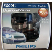 Lâmpada Diamond Vision Philips Super Branca Hb3 5000k 12v