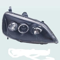 Farol Esportivo Projector & Angel Eyes Honda Civic 01/03 -
